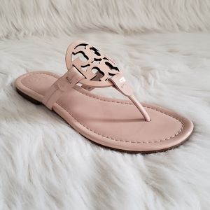 Tory Burch Miller Sandals in Sea Shell Pink 7/7.5